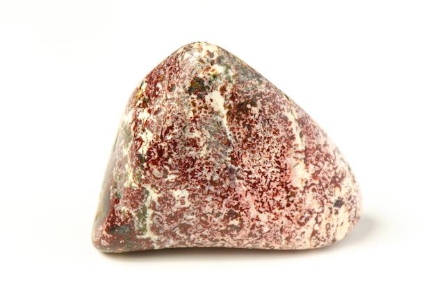 Минеральный камень яшма. крупный план.
