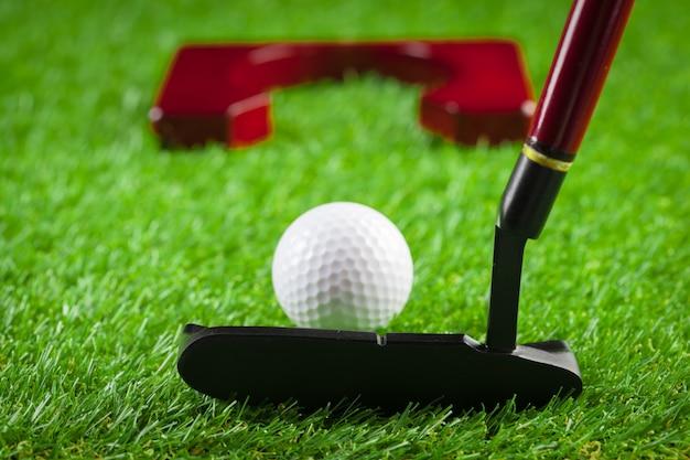 Mini golf equipment