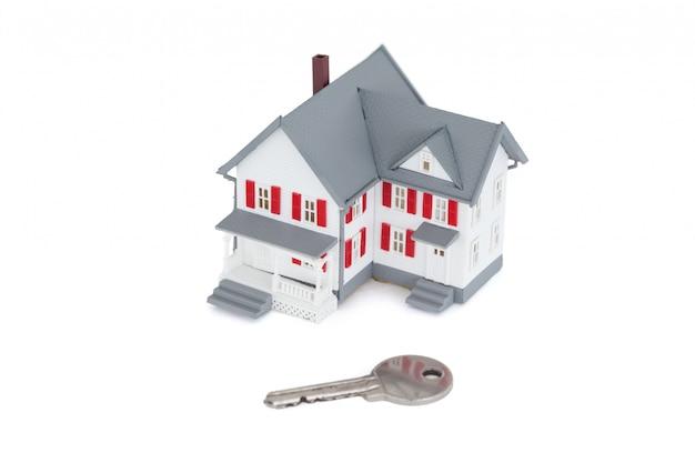 Миниатюрный дом с ключом