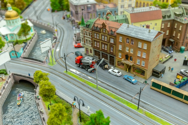 Miniature world, close up