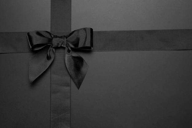 Minimal black friday ribbon