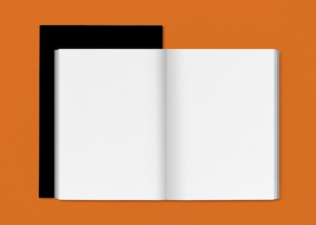 Minimal book page for publishing companies