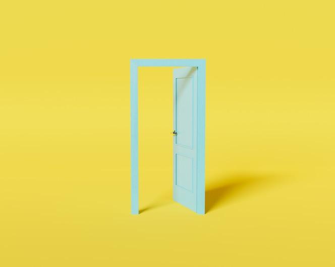 Minimal concept door