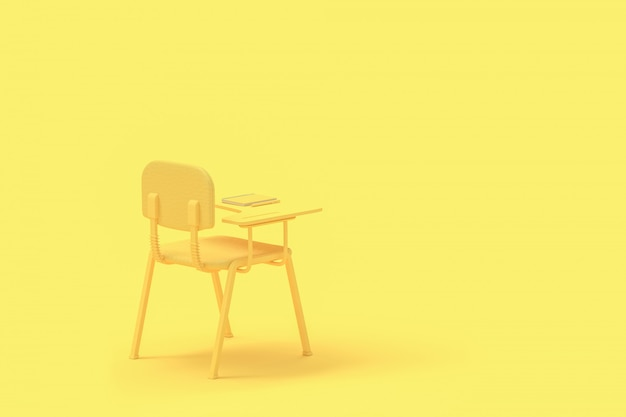 Minimal concept. lecture chair