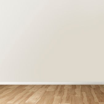 Design interno autentico della stanza vuota minima