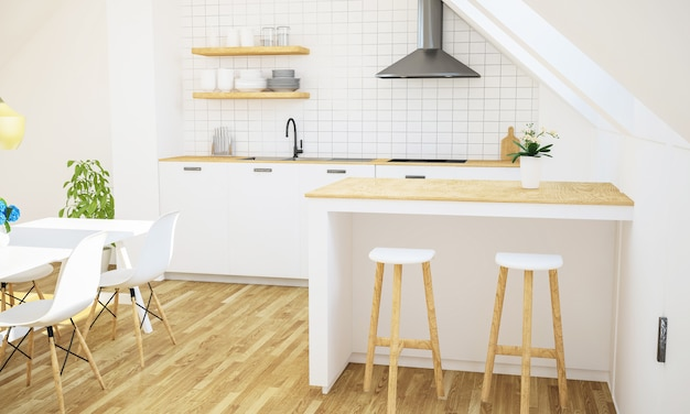 Минимальная кухня