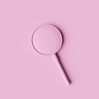 Minimal magnifying glass