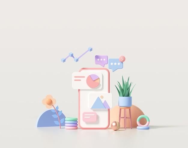 Minimal mobile app development and mobile web design