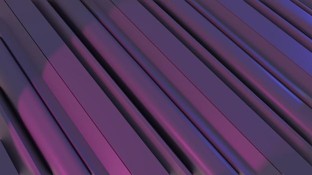 紫色の最小限のモダンな抽象的な3d背景