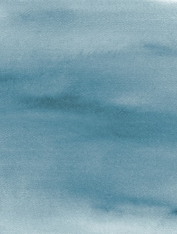 最小限のパステルブルー色水彩テクスチャ絵画抽象的な背景手作りオーガニック