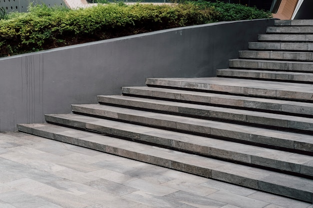 Minimal stairway modern style