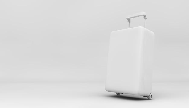 3d 렌더링에서 최소한의 흰색 가방