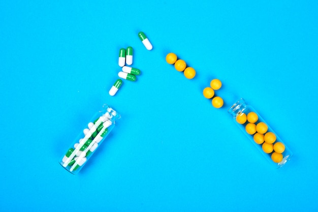 Minimalism style template for medical pills blog.