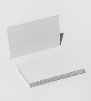 사무실 문구류를위한 미니멀하고 깨끗한 백서