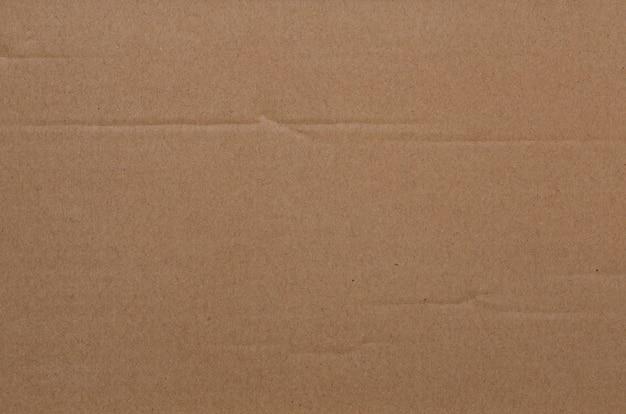 Minimalist brown cardboard texture