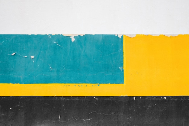 Minimalist colorful concrete wall, abstract old and vintage background.
