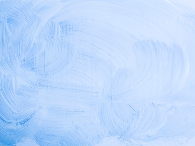 Minimalist light blue painting