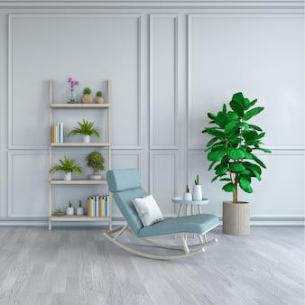 Minimalist room interior design
