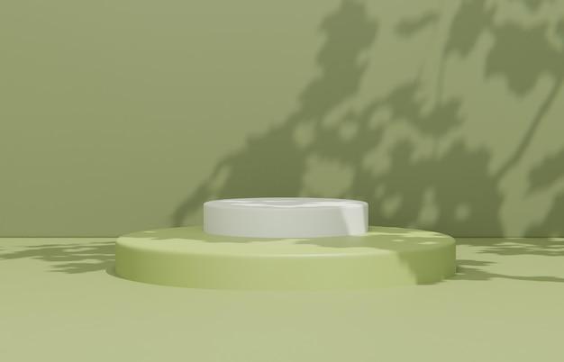 Минималистичная композиция сцены для презентации продукта