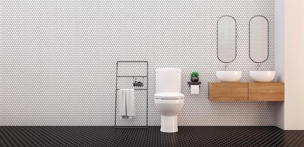 미니멀리스트 화장실.