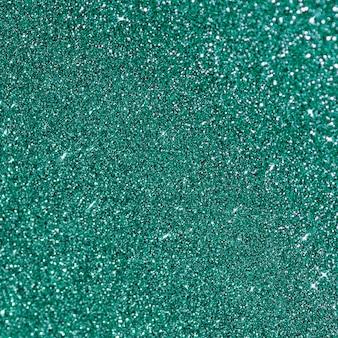 Minimalist turquoise glitter background