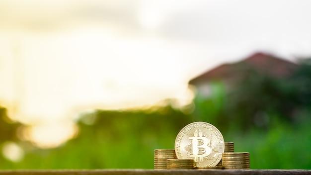 Mining golden bitcoins