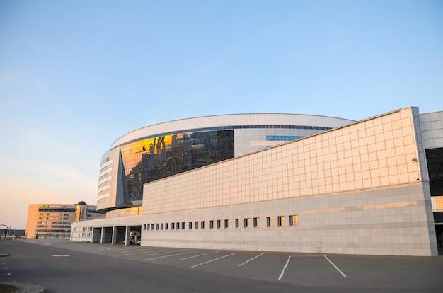 Минск-арена, спортивный комплекс для соревнований.