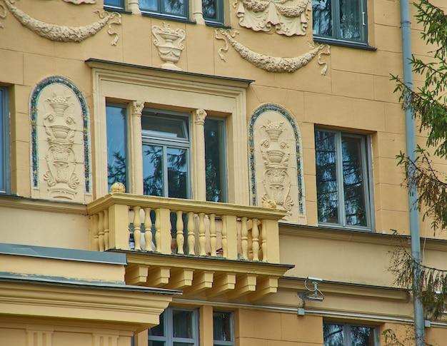 Минск, беларусь. проспект независимости в стиле сталинский ампир.