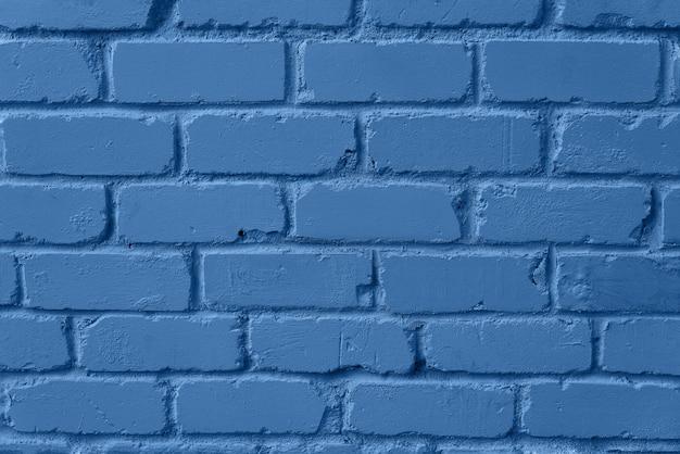 민트 벽돌 벽 텍스쳐입니다. 디자인에 대 한 복사 공간 배경입니다. 트렌디 한 블루와 차분한 색상.