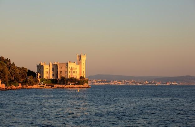 Miramare castle, trieste