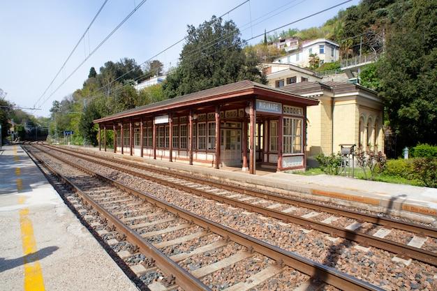 Miramare railroad station