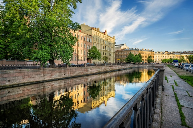Зеркальные каналы санкт-петербурга