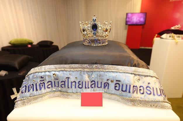 Бриллиантовая серебряная корона конкурс красоты miss missant