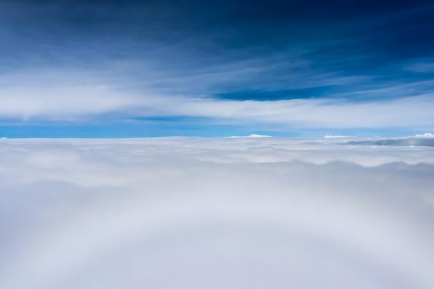Mist above jungfrau region