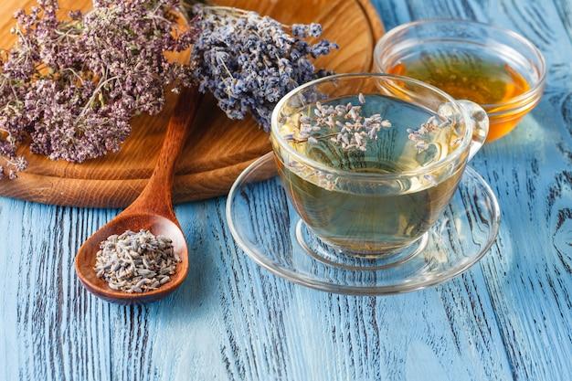 Mix of bio herbal tea