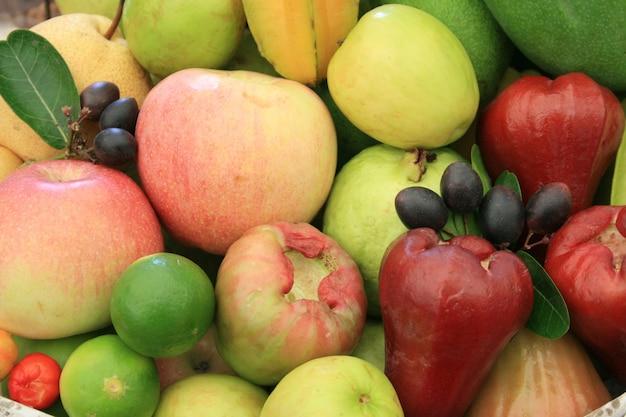 Mix fresh fruit