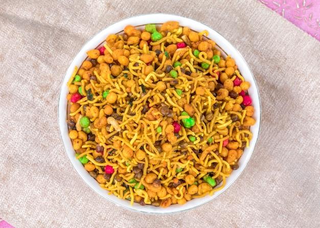 Mix namkeen food