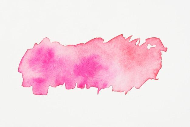 Микс красной и пурпурной акварели