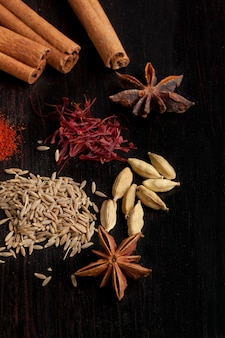 Mix of the spices
