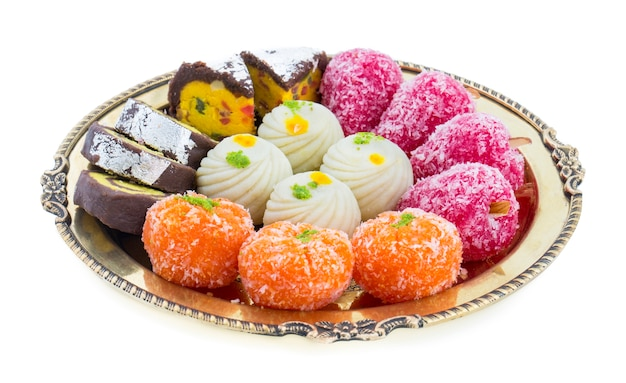 Mix sweet food