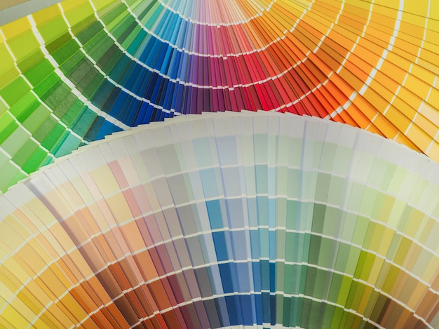 Mixed color paints. decorative colored background.