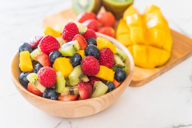 Mixed fresh fruits