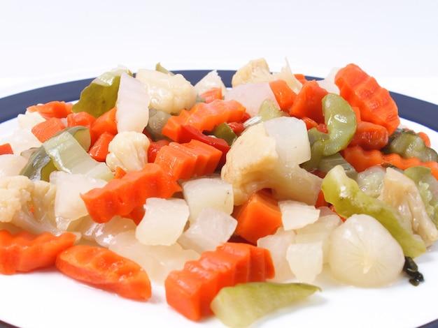 Смешанные овощи фон