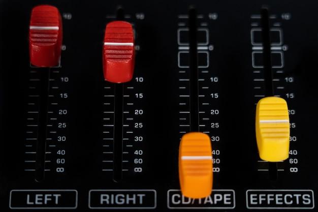 Mixer main input control