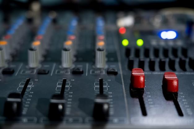 Mixer main volume control