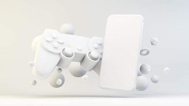 3dレンダリングにおけるモバイルゲームのコンセプト