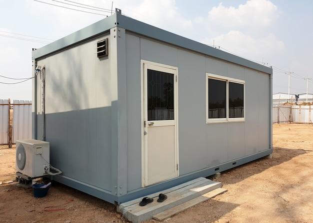 Мобильные офисные здания или контейнерный офис для строительной площадки
