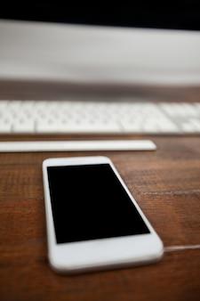 Mobile phone and keyboard