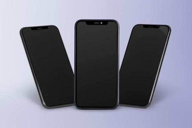 Цифровое устройство экрана мобильного телефона