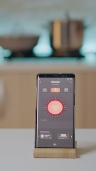 ワイヤレス照明自動化ソフトウェアを搭載した携帯電話